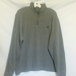 Chaps Grey Pullover Sweater Size XL